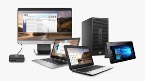 Desktops, Laptops and Tablets
